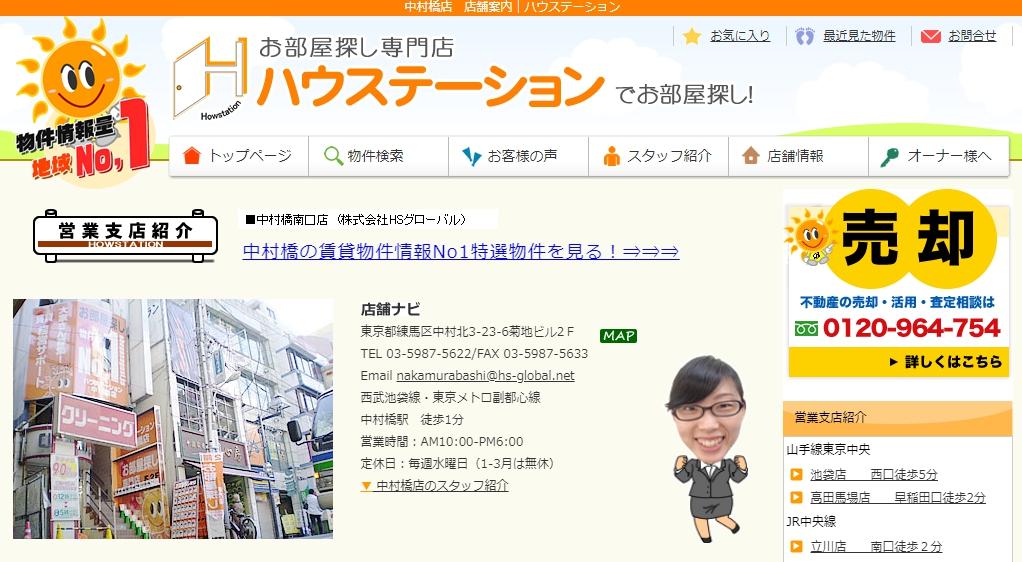 ハウステーション 中村橋店